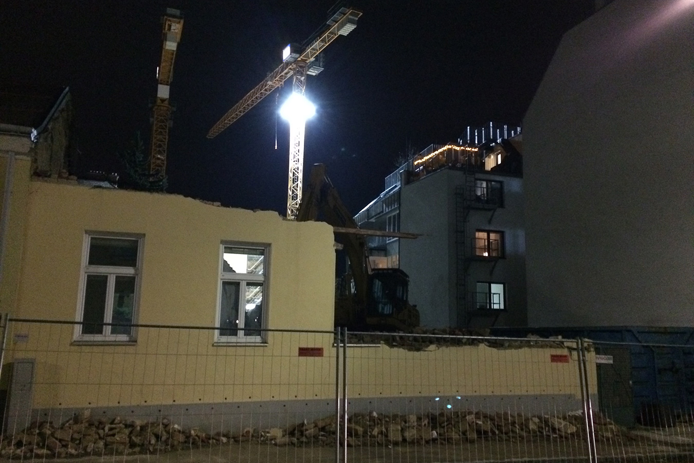 Baubeginn ELFZWANZIG WIEN