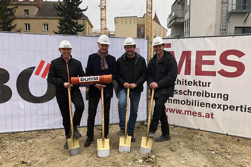 Spatenstich Wohnprojekt Elfzwanzig Wien